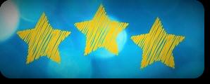 3 star doodle